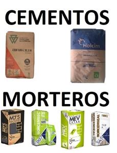 Imagen para la categoría CEMENTOS Y MORTEROS